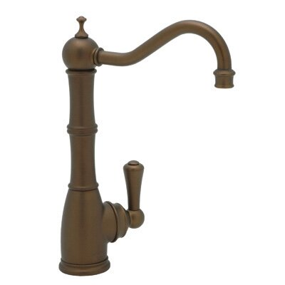 Rohl Perrin and Rowe One Handle Single Hole Bar Faucet with Column Spout