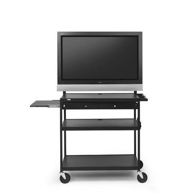 "Bretford Manufacturing Inc Cart with Laptop Shelf for 37"" to 52"" Flat Panels"