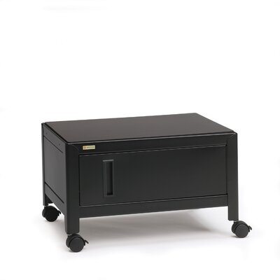 Bretford Manufacturing Inc Printer Stand with Cabinet & Door in Black