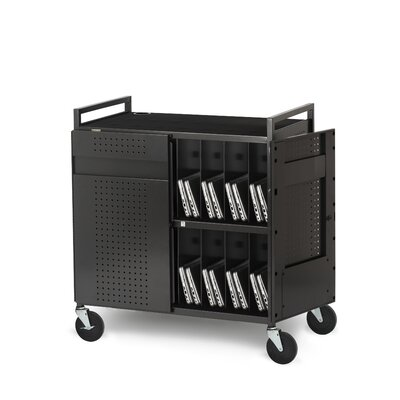 Bretford Manufacturing Inc Basic Micro Computer Netbook Storage Cart