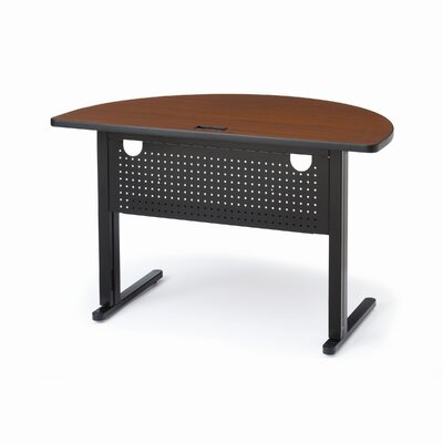 Bretford Manufacturing Inc KR Half Round 48&quot; Training Table