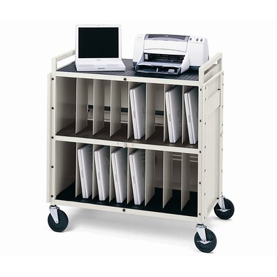 Bretford Manufacturing Inc 16 Laptop LAPT Series Tech-Guard Storage Computer Cart with Electrical (fully assembled)