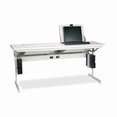 "Bretford Manufacturing Inc SmartDeck 36"" x 34"" Mini Tower Computer Table"