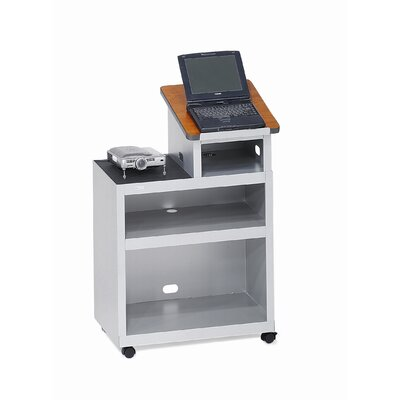 Bretford Manufacturing Inc Mobile Presentation Lectern with Data Projector Shelf