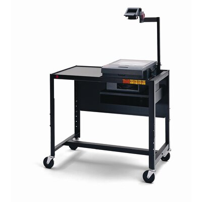 "Bretford Manufacturing Inc 27 - 41"" Adjustable Height UL Listed Overhead Projector Table"