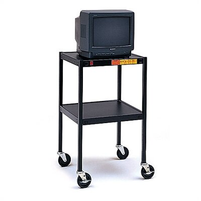 "Bretford Manufacturing Inc 34"" High UL Listed Audio Visual Cart"