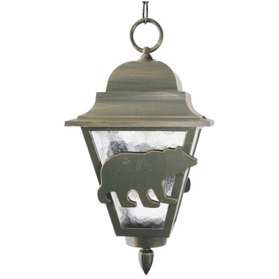 Melissa Lighting Americana Bear Series 16&quot; Hanging Lantern