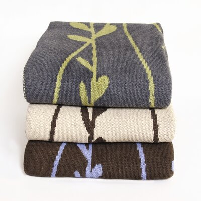 In2Green Eco Vine Cotton Throw Blanket