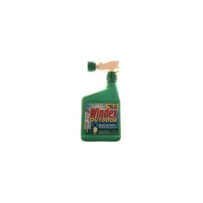 Windex Outdoor Glass Cleaner with Sprayer