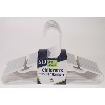 Merrick Children's Tubular Hanger (Set of 10)
