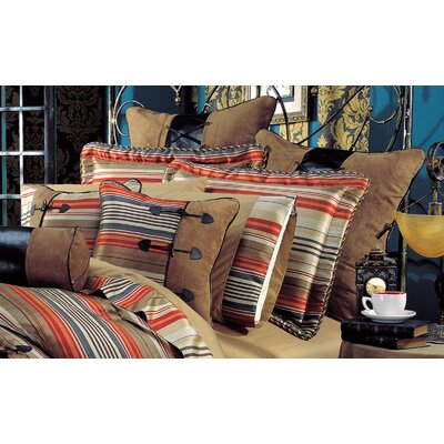 kathy ireland Home by Hallmart Hacienda Spice 9 Piece Comforter Set