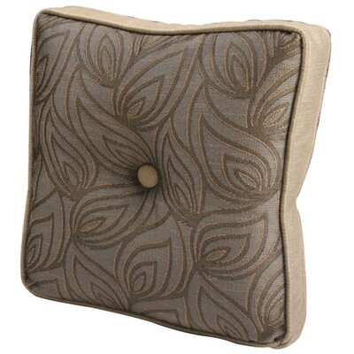 "Jennifer Taylor Biltmore 2.5"" x 16"" x 16"" Pillow with Self Cord & Self Buttons"