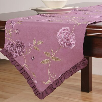 Sandy Wilson Daphne Table Runner with Embroidery