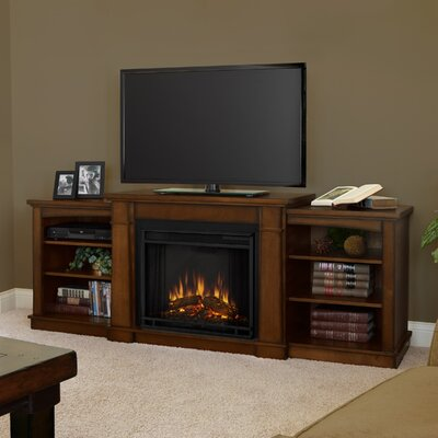 "Real Flame Hawthorne 75"" TV Stand with Electric Fireplace"