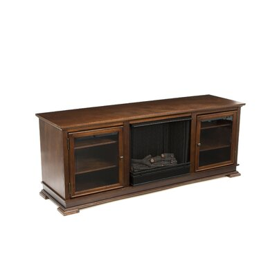"Real Flame Hudson 68"" Ventless TV Stand with Gel Fireplace"