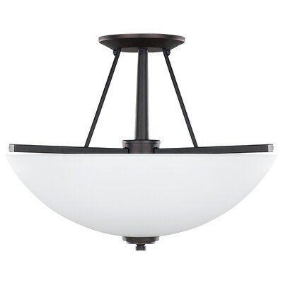 Canarm New Yorker  3 Light Semi-Flush Mount