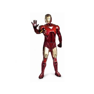 Disguise Costumes Deluxe Men's Iron Man Mark 6 Adult Costume