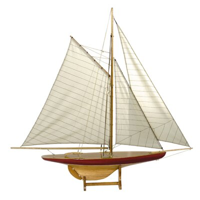 Authentic Models Sail Model 'Defender' 1895