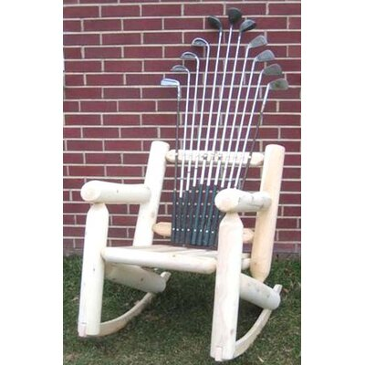 Golf Club Rocking Chair