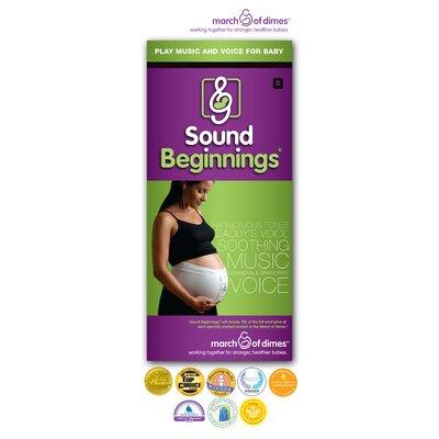 Sound Beginnings Large Pre-Natal Sound Delivery Device in Nude