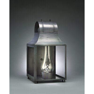 Northeast Lantern Livery Medium Base Socket with Chimney Culvert Top Wall Lantern