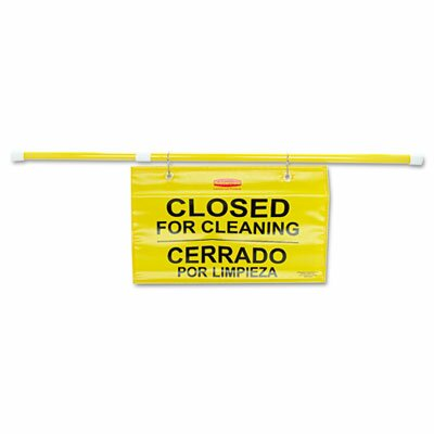 Rubbermaid Commercial Products Site Safety Hanging Sign