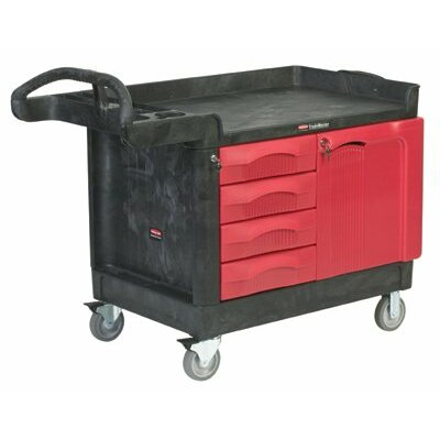 Rubbermaid Commercial Products TradeMaster® Mobile Cabinets and Work Centers - 4 drawer & cabinet;