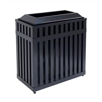 Rubbermaid Commercial Products Avenue 36 Gallon Open Top Receptacle