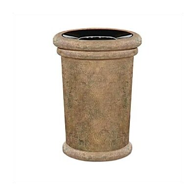 Rubbermaid Commercial Products Milan 37 Gallon Tapered Receptacle with Urn