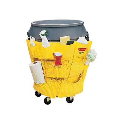Rubbermaid Commercial Products Brute Caddy Bag in Yellow