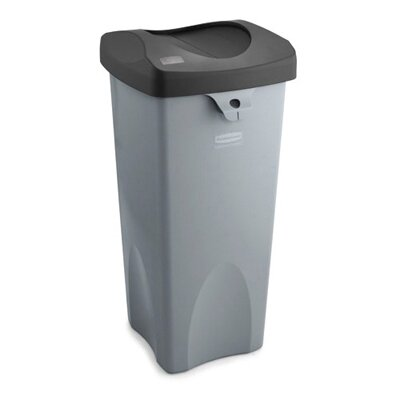 Rubbermaid Commercial Products Untouchable Square Container in Gray