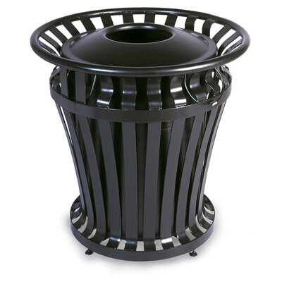 Rubbermaid Commercial Products WeatherGard Series Container in Black