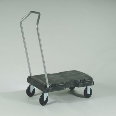 Rubbermaid Commercial Products Triple Trolley in Black
