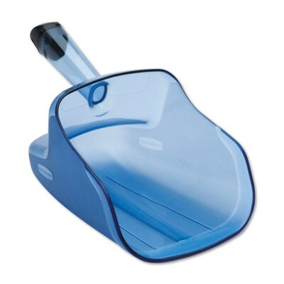 Rubbermaid Commercial Products Hand-Guard Scoop in Transparent Blue