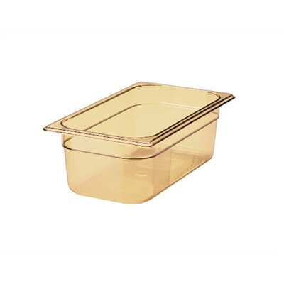 "Rubbermaid Commercial Products 3 Space Hot Food Pan (4"" depth)"