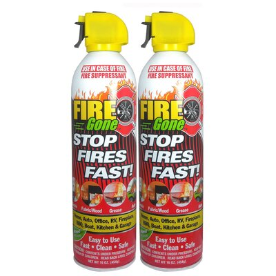 Quest Products Inc Max Professionals Fire Gone (2-Pack)
