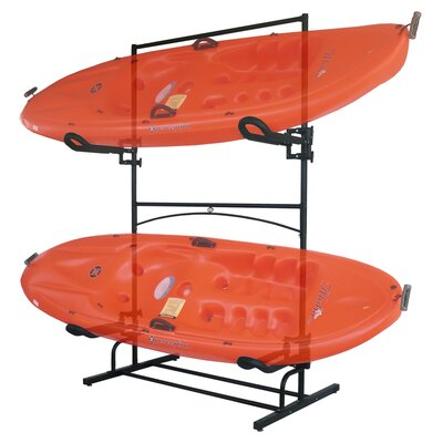 Stoneman Sports Sparehand Malibu Plus Storage Rack in Black