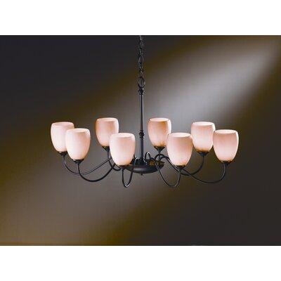 Hubbardton Forge  8 Light Chandelier