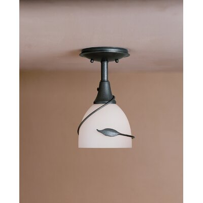 Hubbardton Forge Leaf Small 1 Light Semi Flush Mount