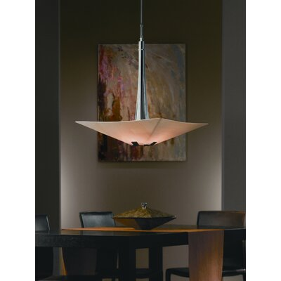 "Hubbardton Forge Vortis 25"" Large 4 Light Adjustable Inverted Pendant"
