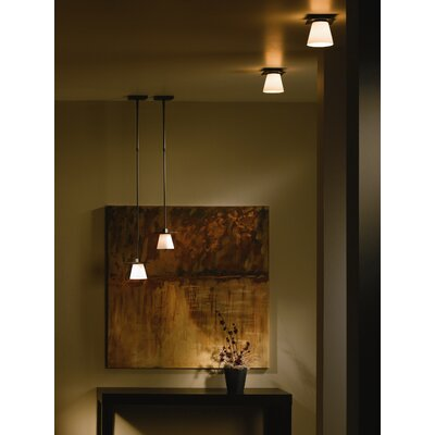 Hubbardton Forge Wren 1 Light Semi Flush Mount
