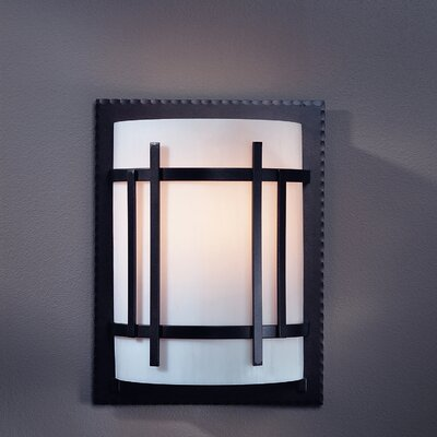 Hubbardton Forge Extended Cage 1 Light Wall Sconce