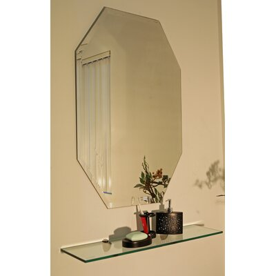 Spancraft Glass Regency Octagon Frameless Mirror