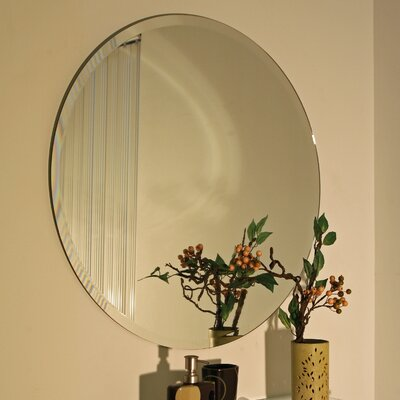 Spancraft Glass Regency Round Frameless Mirror