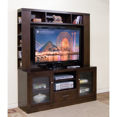 Sunny Designs Espresso Entertainment Center