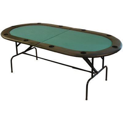 On The Edge Marketing Stow Away Poker Table Set