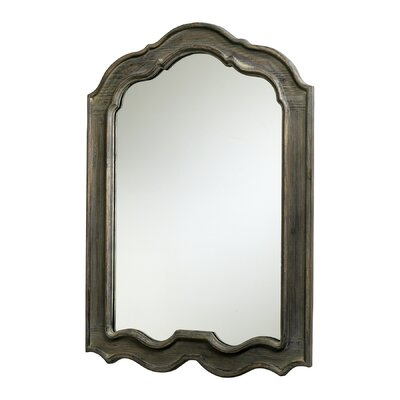 Kathryn Mirror in Distressed Gray