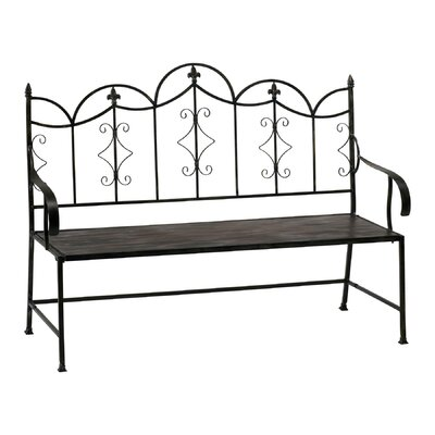 Cyan Design Settee Iron Garden Bench