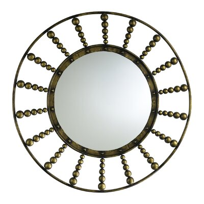 Cyan Design Oliver Mirror in Rustic Gold
