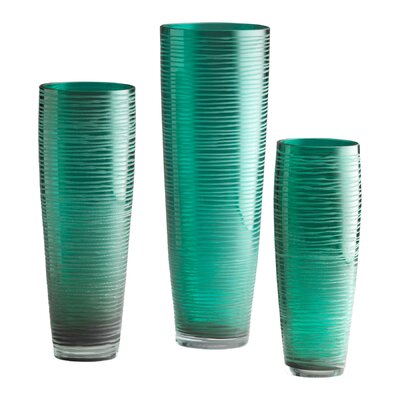 Medium Turkish Vase in Aqua